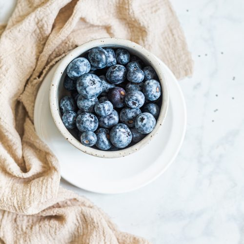 Healthy Smoothie with Blueberries