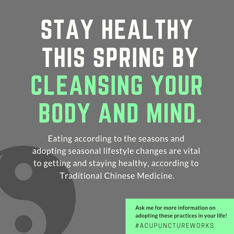 Cleanse with Acupuncture