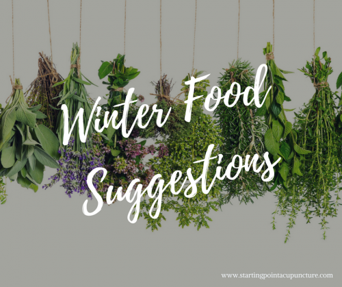 Winter Food Suggestions