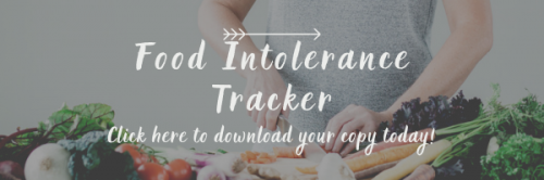 Food intolerances tracker