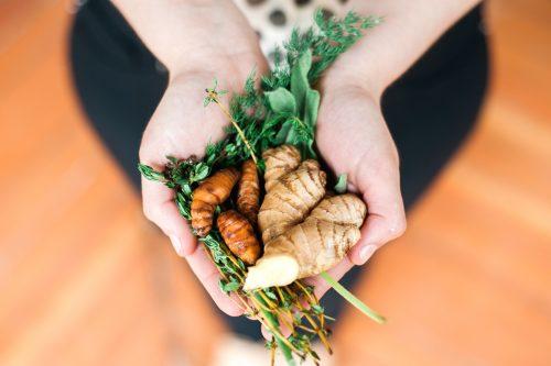 Turmeric root for anti-inflammatory