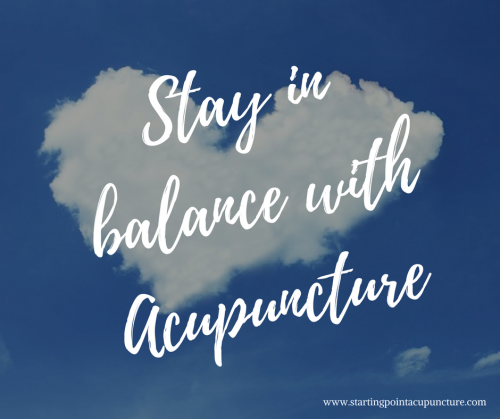 Tips to keep your heart in balance with acupuncture