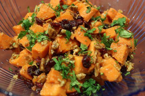 Gluten-free sweet potatoes
