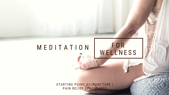 Meditation for pain relief