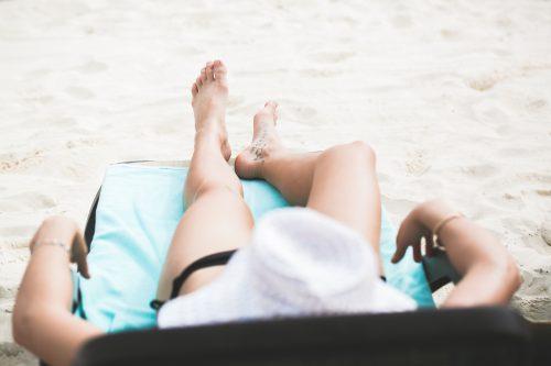 healthy summertime skin