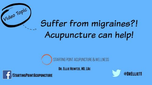 Migraines gone with acupuncture