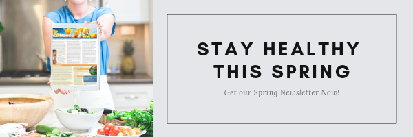 Spring Health Tips newsletter