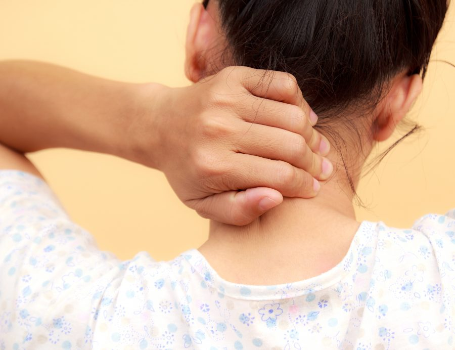 Whiplash and neck pain following car accident